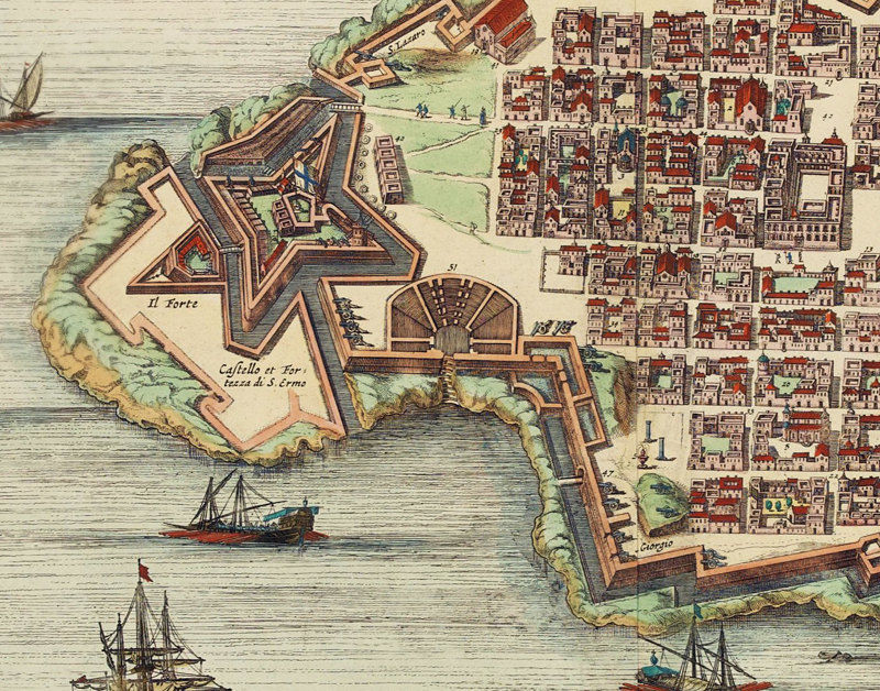 maps-of-medieval-cities-valleta-malta-1705