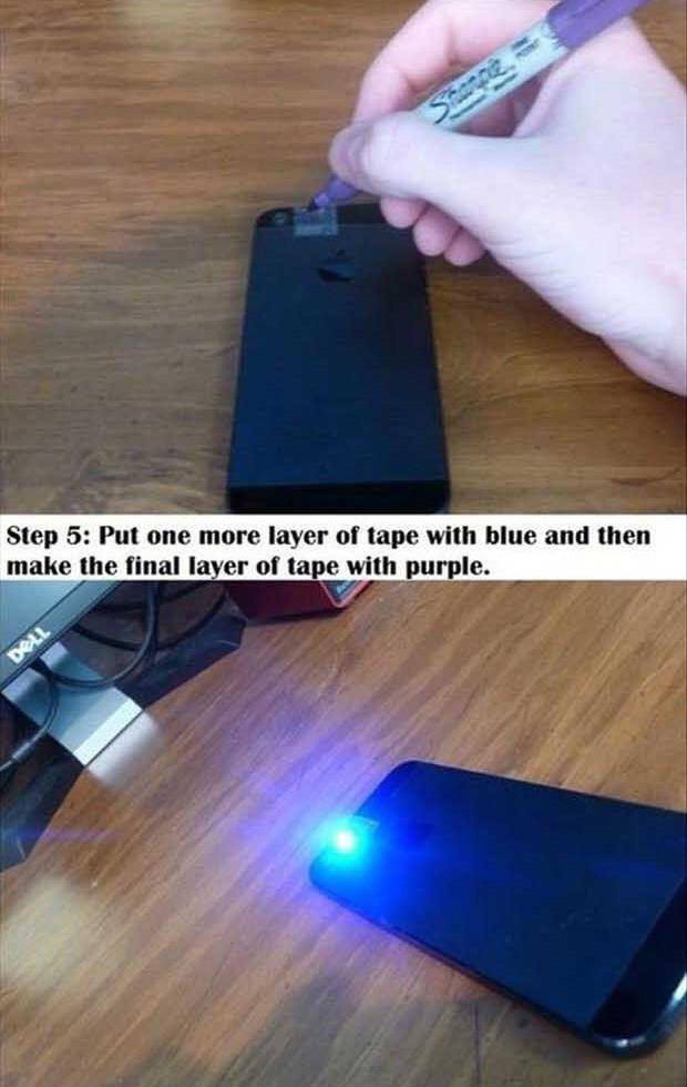 turn-your- smartphone-into-your-own- black-light-5