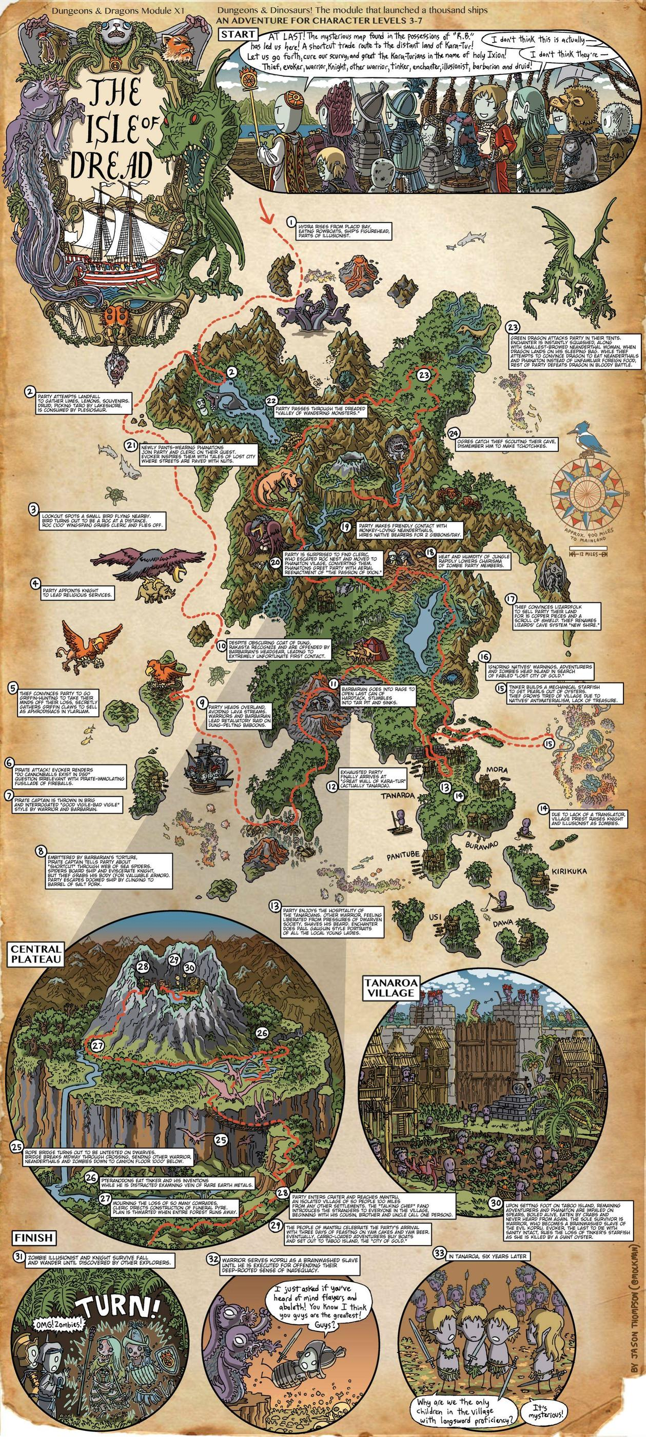 classic-dungeons-and-dragons-walkthrough-maps-4