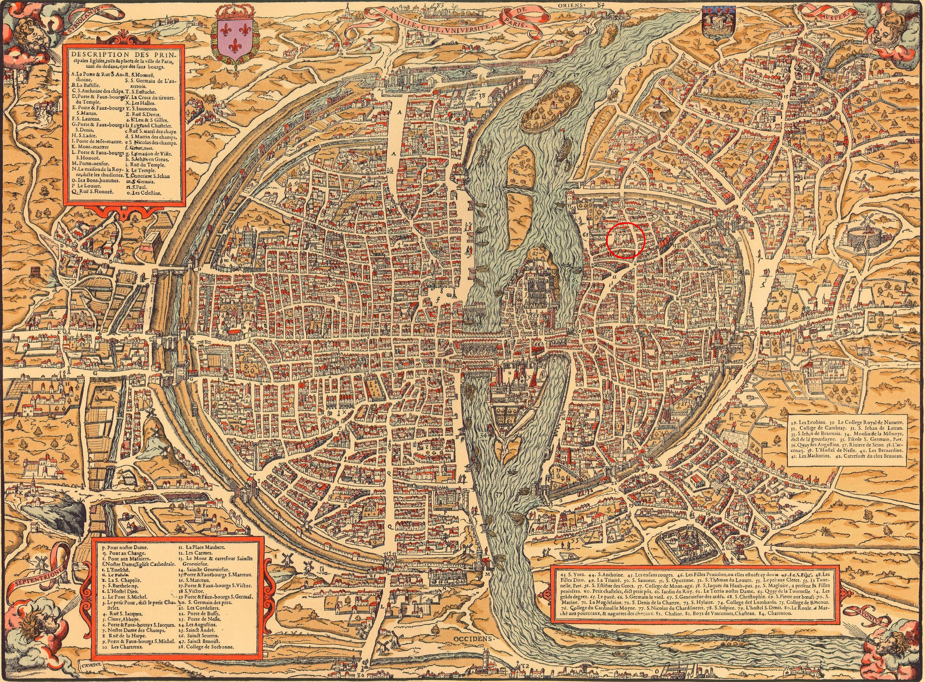 Old Maps of Paris 360-1615 – Earthly Mission