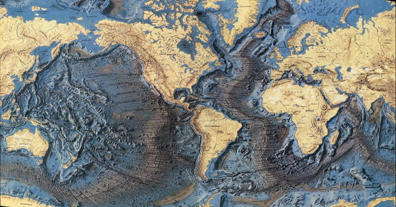 World Ocean Floor Map - Earthly Mission Pacific Ocean Underwater Map
