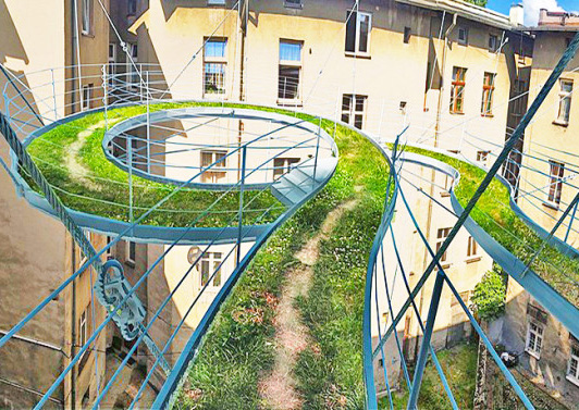 twisted-green-floating-balcony-walkway-1