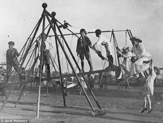 How Dangerous Playgrounds Were 100 Years Ago Earthly Mission