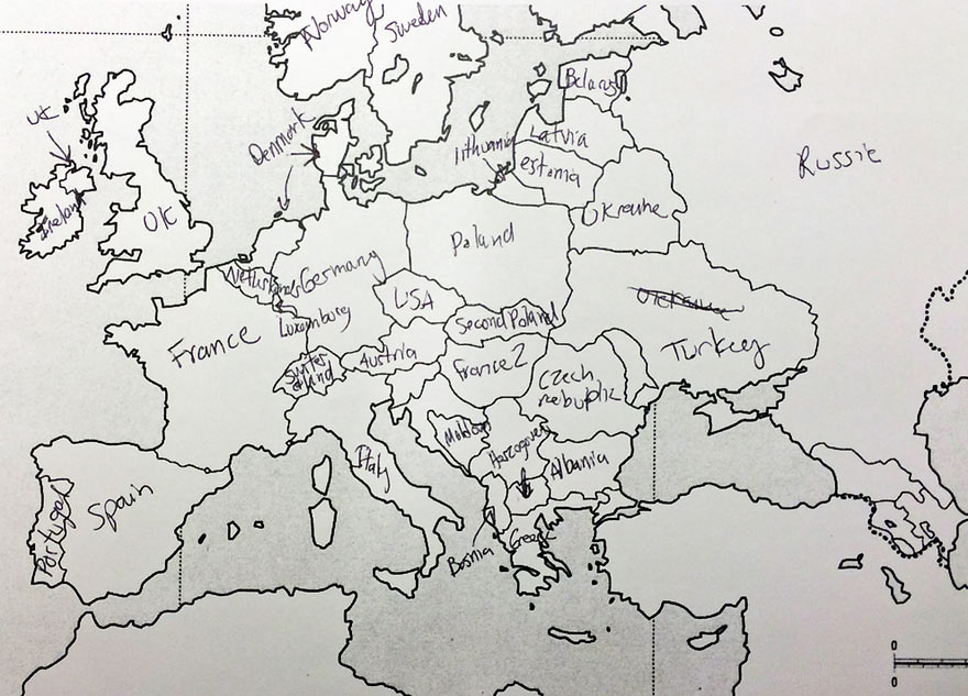 Americans Try to Locate European Countries and it is Hilarious ...