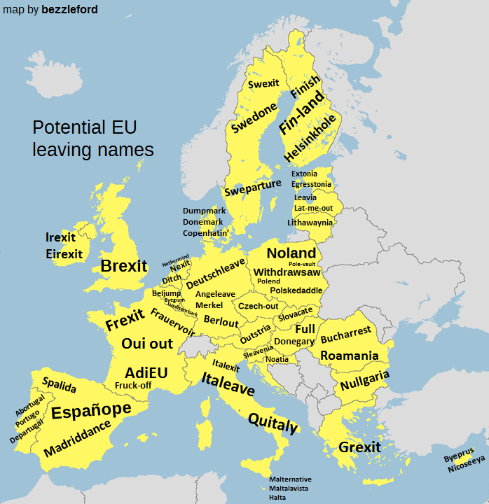 eu leaving names brexit europe countries