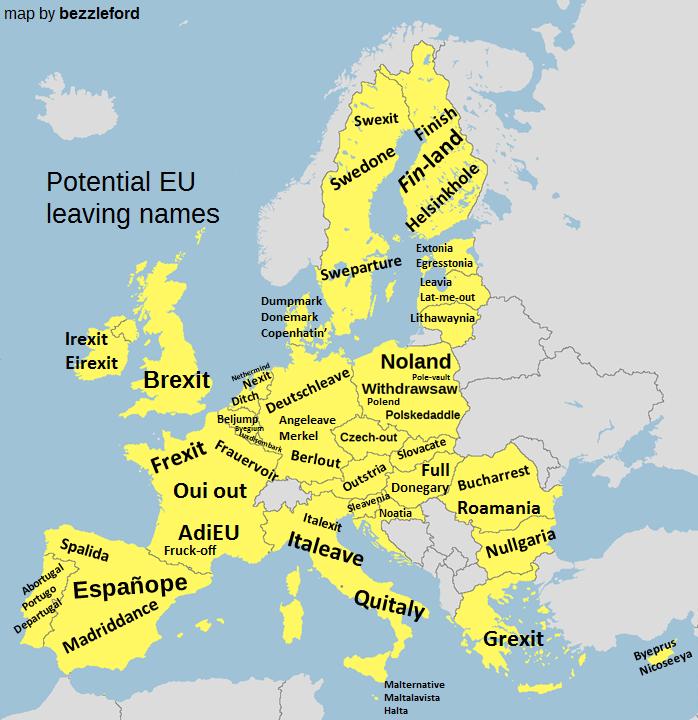 eu leaving names brexit europe countries
