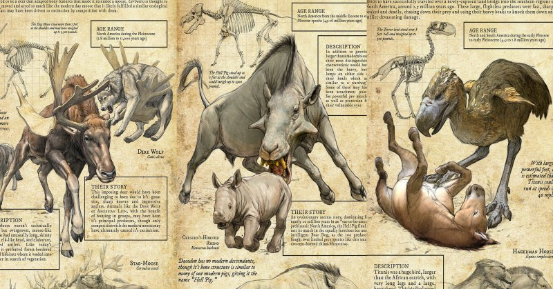 long extinct monsters of north america earthly mission