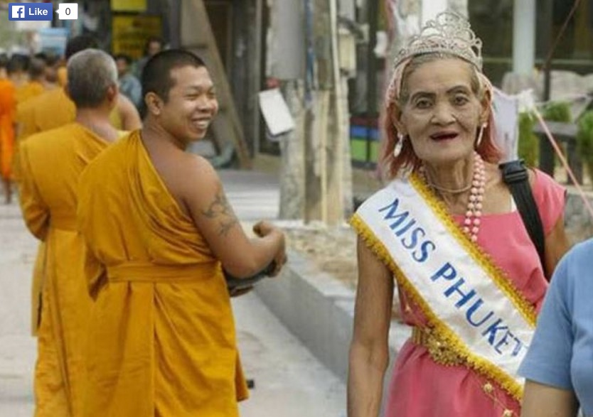 old miss phuket beauty contest thailand