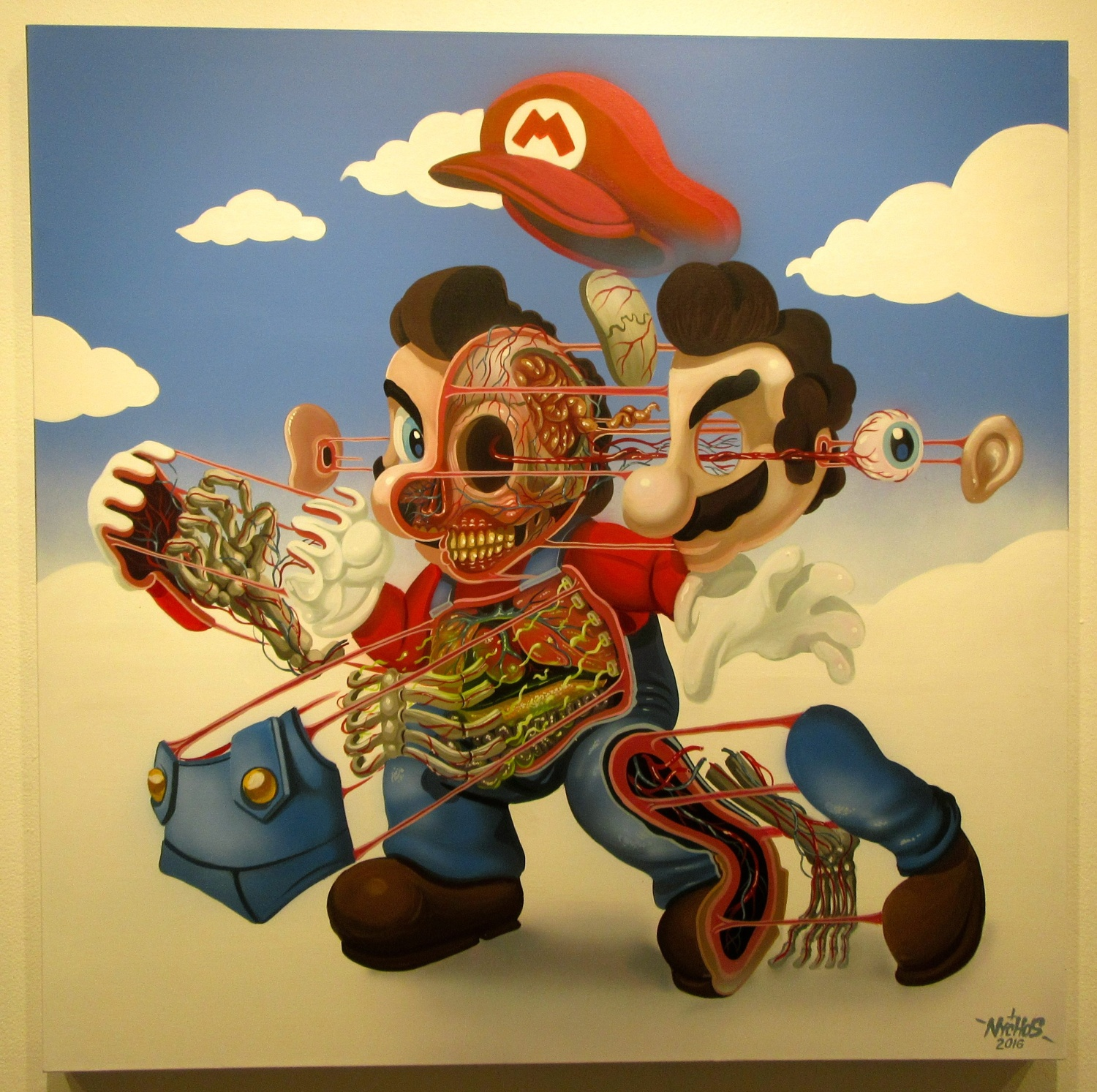 Pop Culture: Cutaway Portraits Of Pop Culture Icons By Nychos