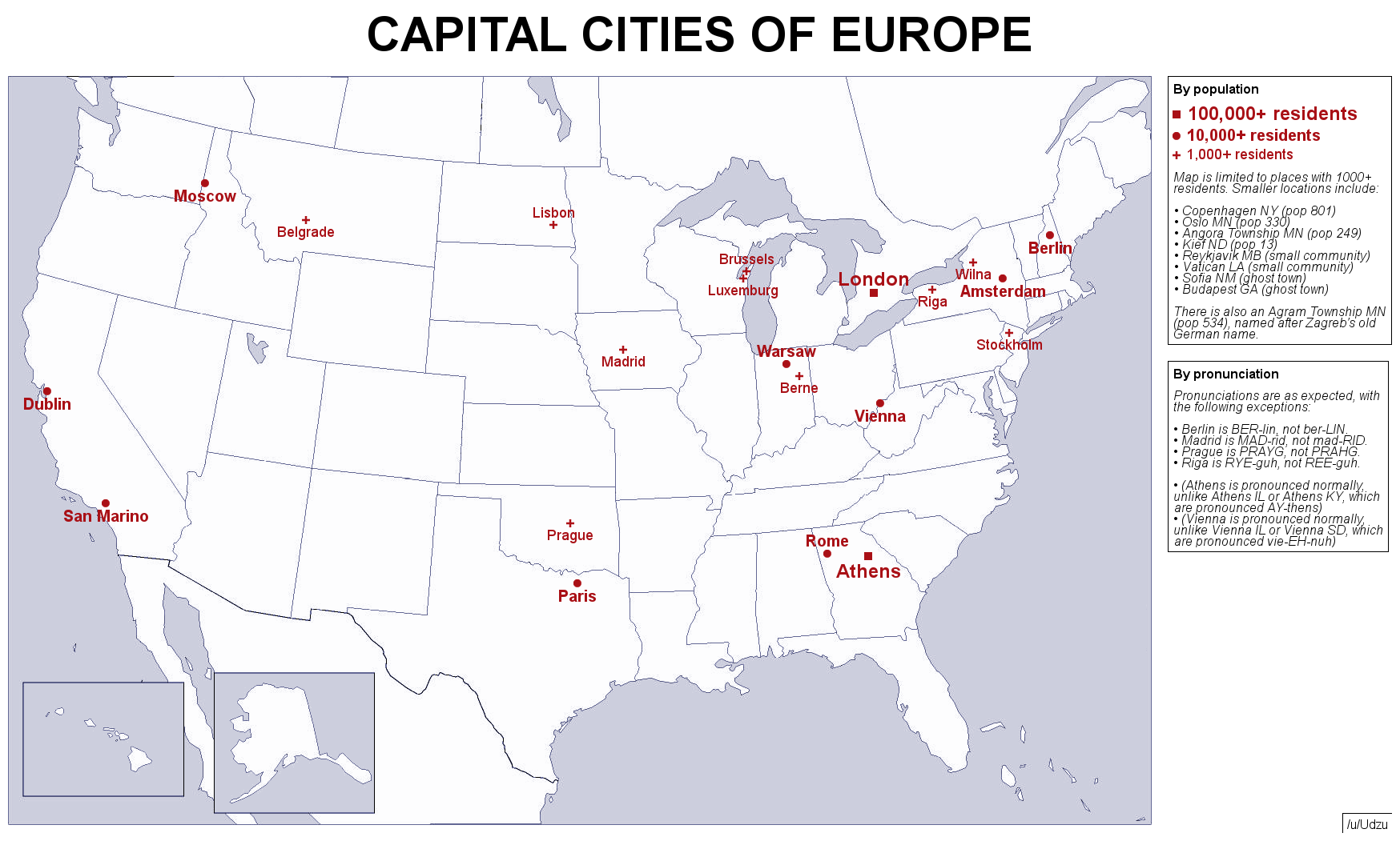 European Capital Cities (US Edition) – Earthly Mission on