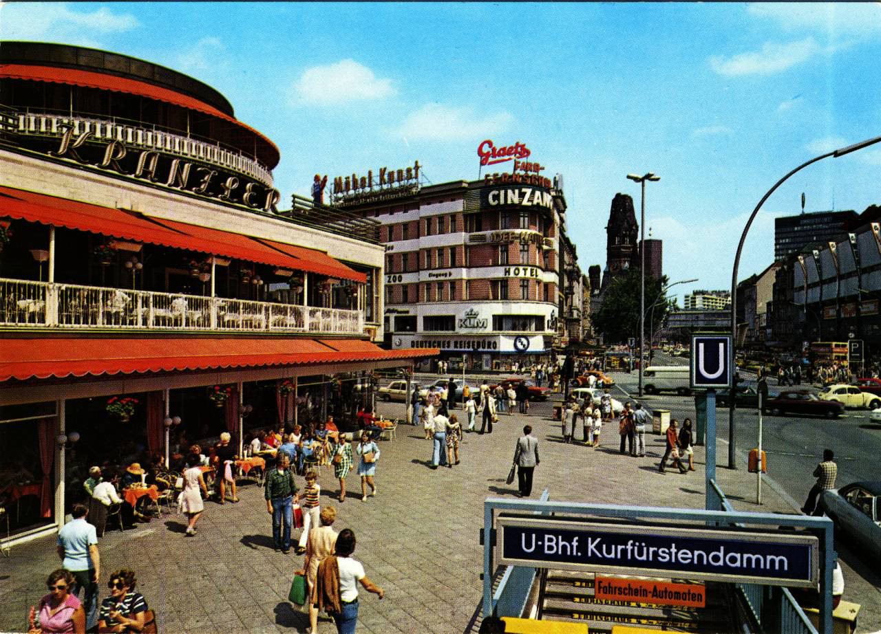 West Berlin Postcards From The 50s 60s And 70s Earthly