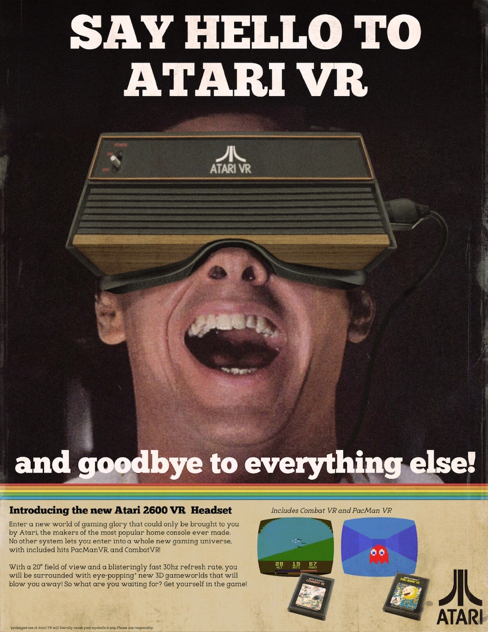 What VR Ads Would Have Looked Like in the 80s – Earthly Mission