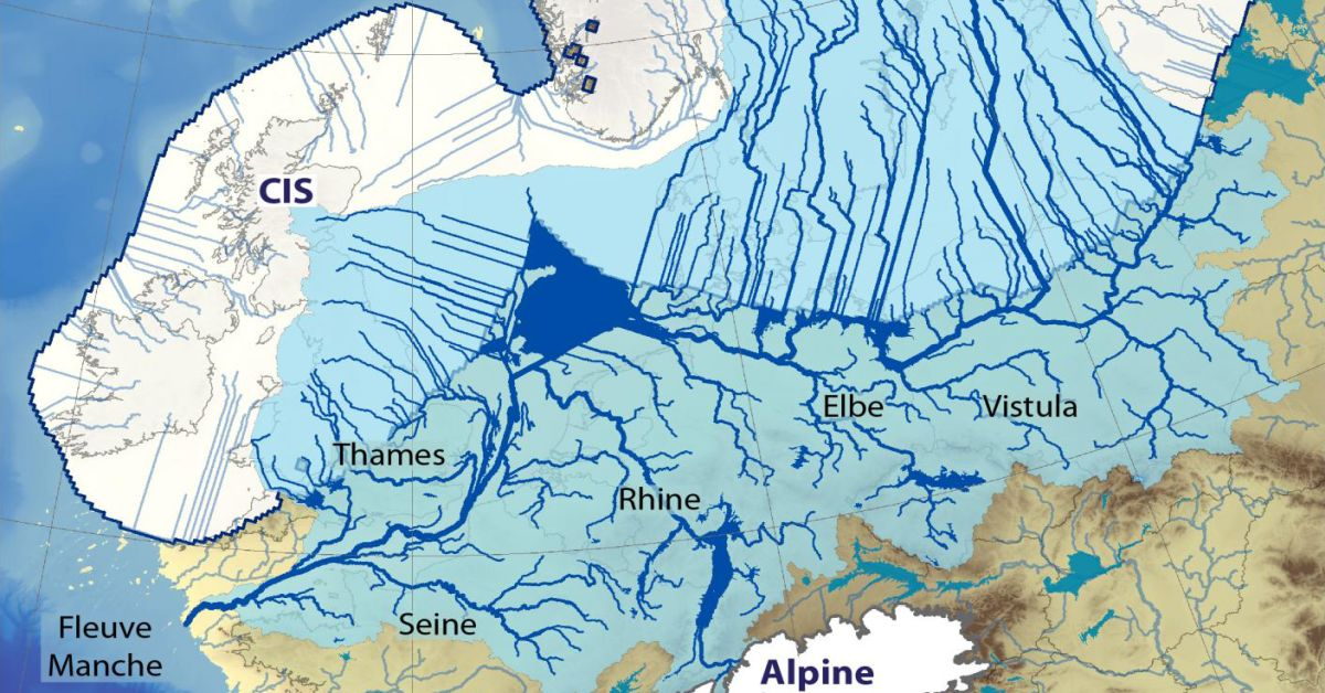 The Eurasian Ice Age River System And What Its Collapse Led To