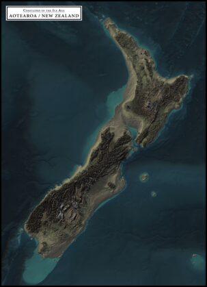coastlines of the ice age aotearoa new zealand