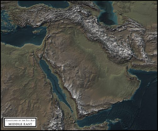 coastlines of the ice age middle east