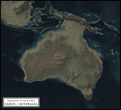 coastlines of the ice age sahul / australia