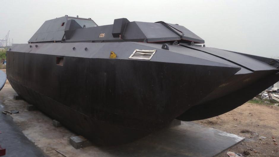 china armored car smuggler boat