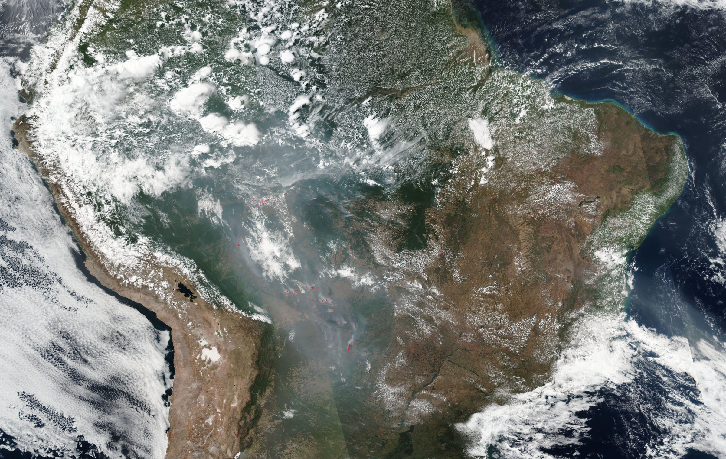amazon fires from space