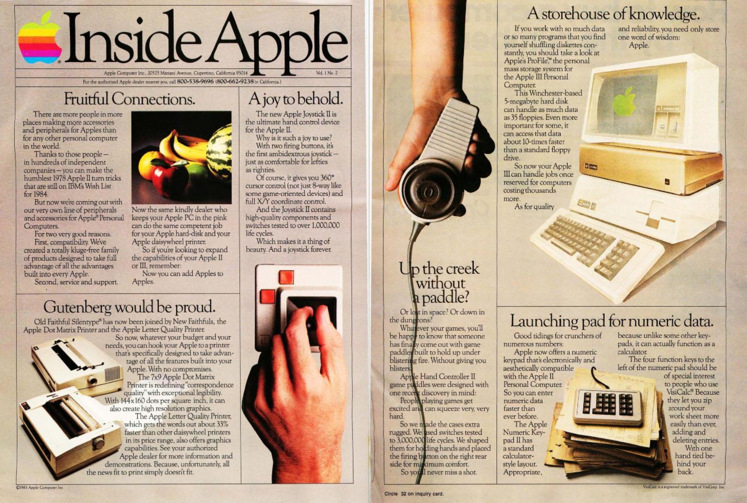 Inside Apple, 1983