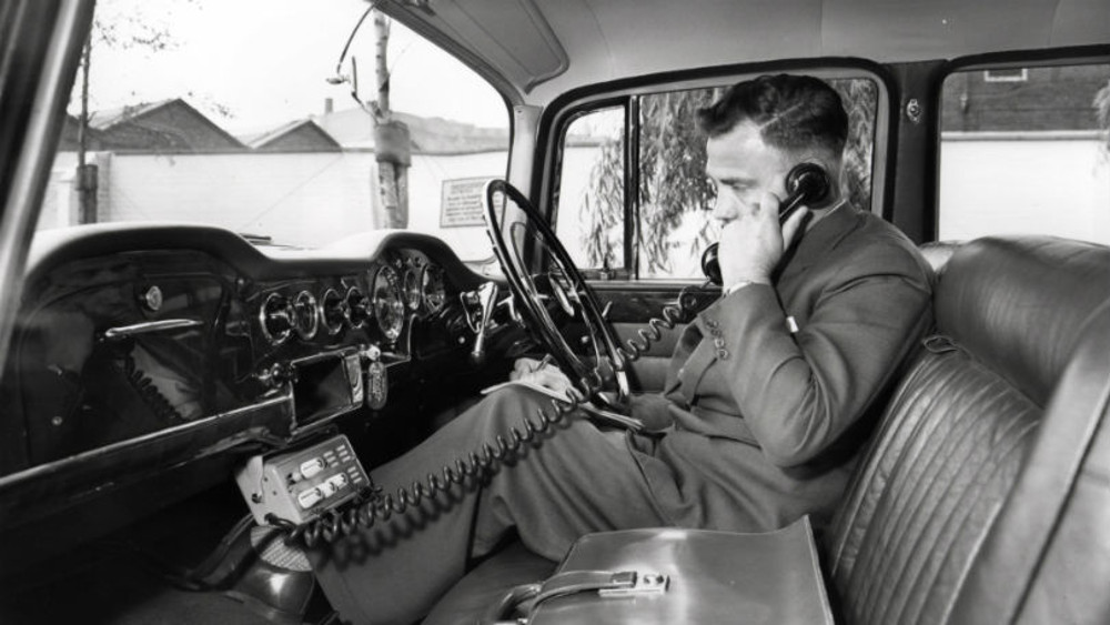 old car phone