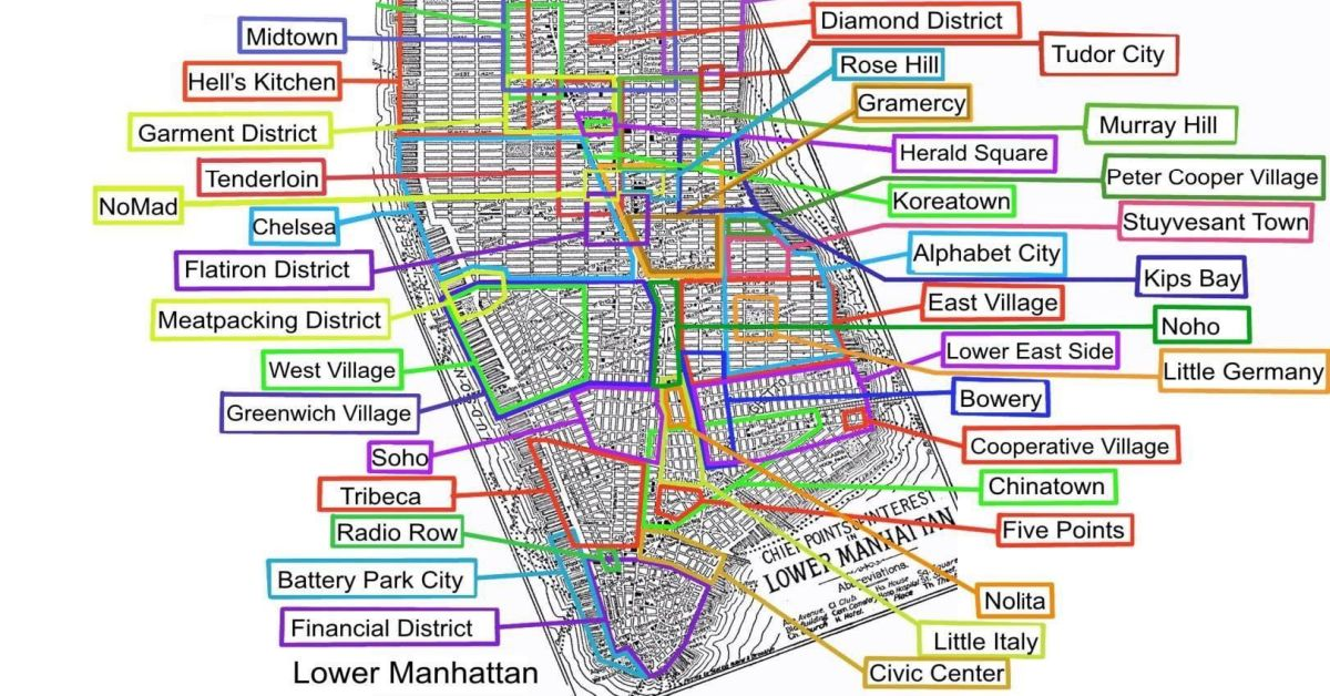 Map of Manhattan Neighborhoods (All of Them) - Earthly Mission Map Manhattan Neighborhoods on manhattan bus routes, new york city street grid map, manhattan tv series, manhattan midtown, new york times square hotel map, new york city 1860 map, san francisco tenderloin area map, new york city walking map, manhattan areas, lower east side new york map, new york city times square map, manhattan financial district skyline, manhattan jewelry heist, manhattan satellite, manhattan tumblr, new jersey and staten island map, central park map, new york city boroughs map, manhattan spring, westchester county new york zip code map,