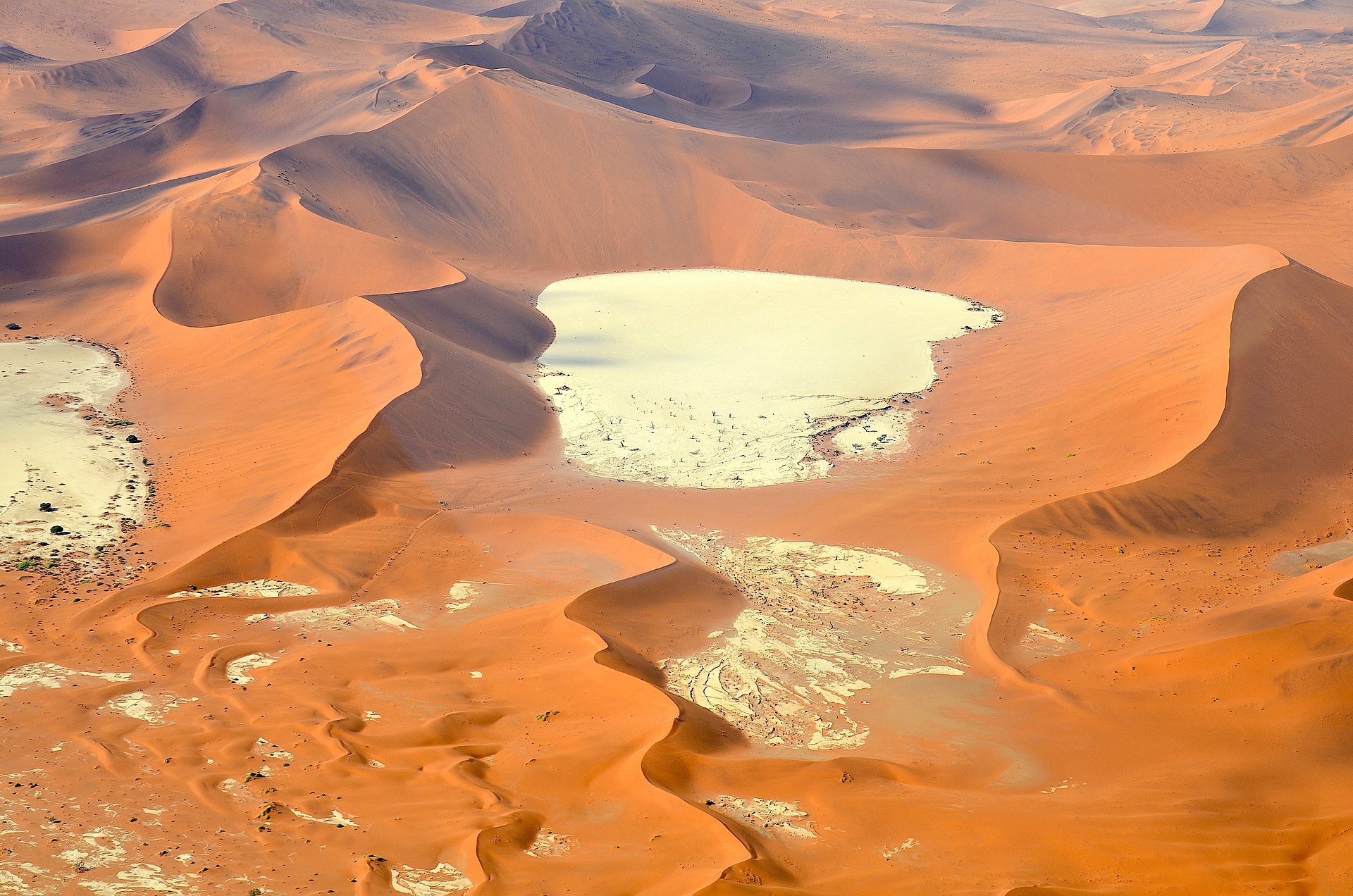 deadvlei aerial view